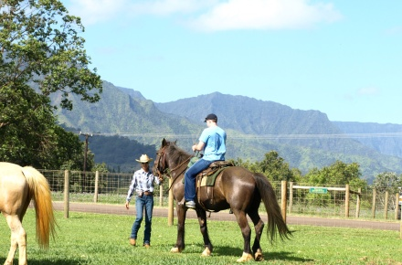 princeville ranch horseback riding