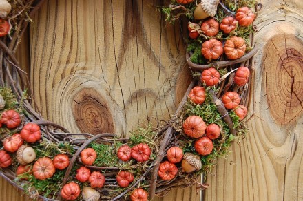 fall wreath - etsy