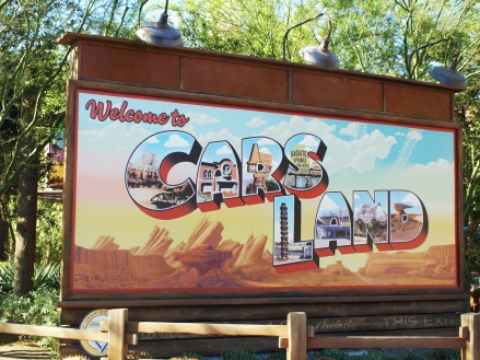 cars land at disneyland