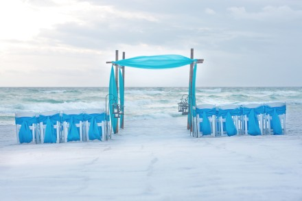 Four Points Destin-Wedding setup