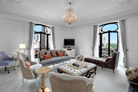 St. Regis New York -Dior Suite Living Room