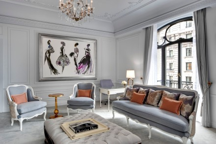 St. Regis New York-Dior Suite Living Room