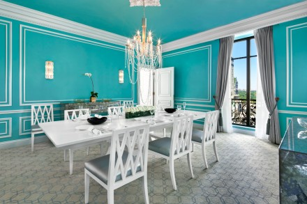 St. Regis New York-Tiffany Suite - Dining Room with Central Park view