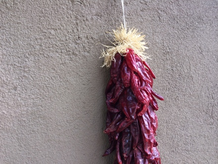 Ristras - Santa Fe, New Mexico
