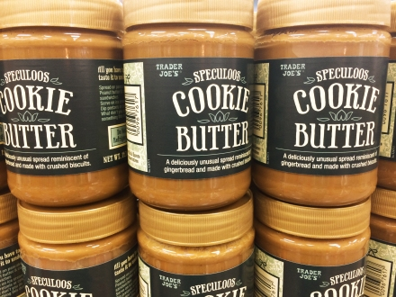 cookie butter at trader joes