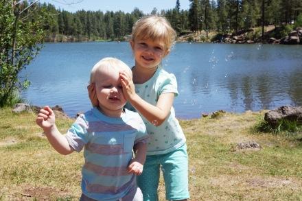 little bear lake - manyhatsofamom.com